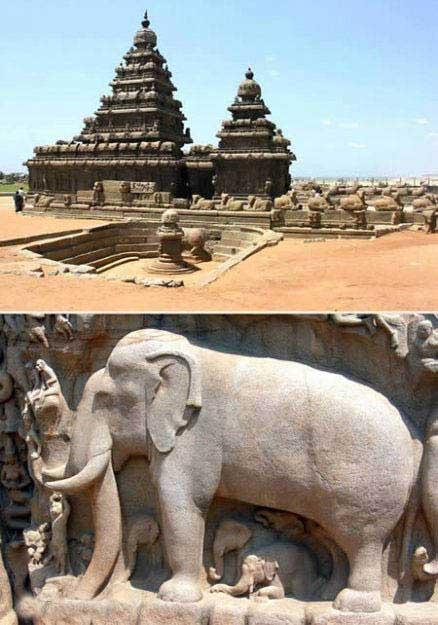 پرستشگاه-مهابالیپورام-(هند)