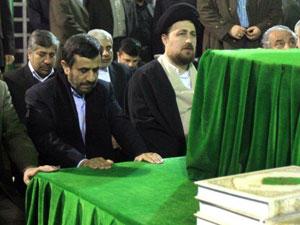 اولین حضور نوه امام درجمع اعضای دولت دهم