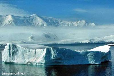 منظره بخشی از قطب جنوب سردترین قاره کره زمین که تنها پایگاههای علمی نشانه حضور انسان در این سرزمین است. عکس ژان پل لوکوک.