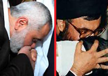 تفاوت بوسههای دو رهبر عربی +عکس