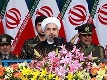 روحانی: غرب سفره خود را با خون مردم منطقه رنگین کرده است