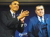 حامی مالی اوباما ایرانیان را حرامزاده خواند/ آرزوی بمباران ایران