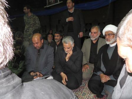 عکس اربعین سردار سلیمانی