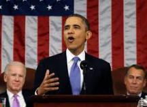 فیلم/ واکنش اوباما به پیاده روی ظریف و کری