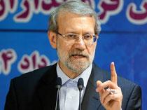 تکرار اظهارات انتخاباتی روحانی این بار توسط رئیس مجلس!