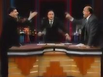 مناظره جنجالی الجزیره درباره ایران و عراق که به درگیری کشید
