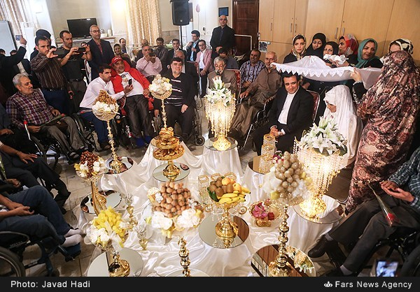 1395021616534015 PhotoL عقد حسینی بای در آسایشگاه ثارالله+عکس