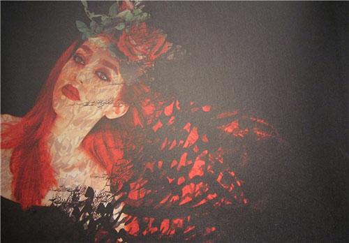 13950229000814 PhotoL کشف حجاب مدلهای تهرانی با خمیرمایه نقاشی و همچنین شاعری!