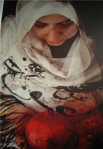 13950229000817 PhotoL کشف حجاب مدلهای تهرانی با خمیرمایه نقاشی و همچنین شاعری!