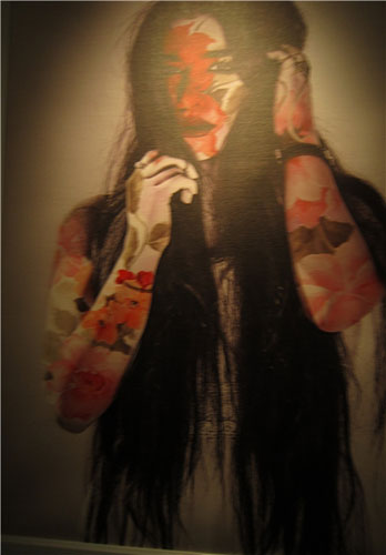 13950229000821 PhotoL کشف حجاب مدلهای تهرانی با خمیرمایه نقاشی و همچنین شاعری!