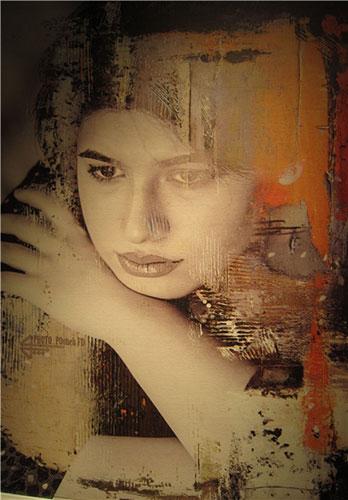 13950229000828 PhotoL کشف حجاب مدلهای تهرانی با خمیرمایه نقاشی و همچنین شاعری!