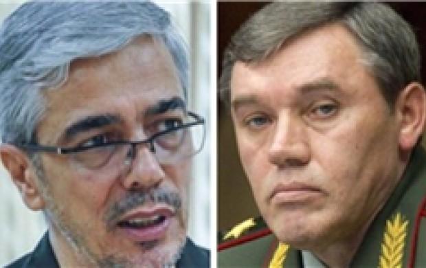 گفتوگوی تلفنی باقری با رئیس ستاد کل نیروهای روسیه/ عملیاتها علیه تروریستها در سوریه تشدید خواهد شد