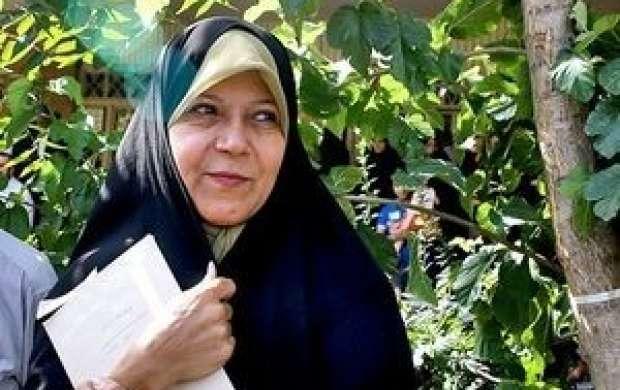 فائزه هاشمی: روحانی از پدرم مشورت نمیگرفت