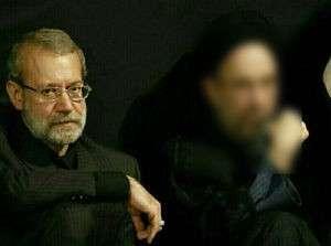 چرا لاریجانی کنار رئیس دولت اصلاحات نشست؟
