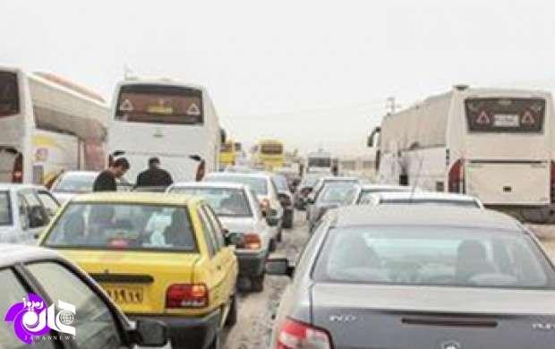 آخرین وضعیت ترافیکی مناطق زلزله زده