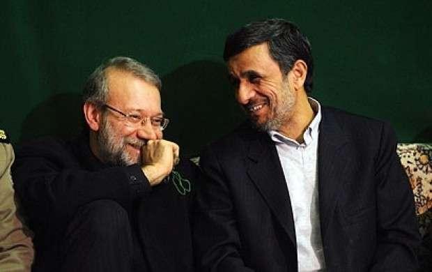 احمدینژاد وارد میشود