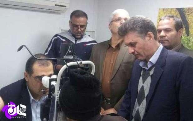 20 عمل جراحی چشم توسط وزیر بهداشت در تایباد