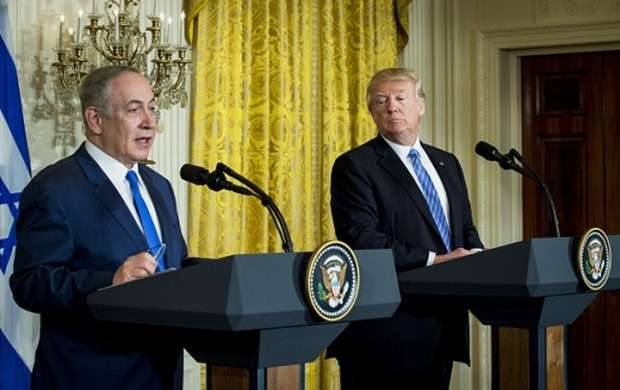 نتانیاهو خطاب به ترامپ: تو تاریخ ساز شدی!