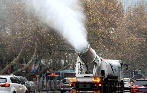 راهکار جالب چینی ها برای آلودگی هوا!