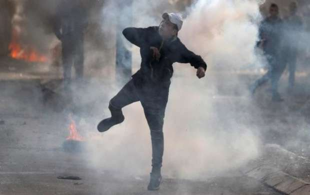 ۱۵۷ زخمی حاصل روز پنجم درگیری ها در مناطق فلسطینی