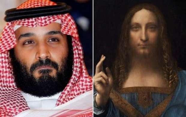 واکنش جالب  به خرید تابلو ازسوی ولیعهد سعودی
