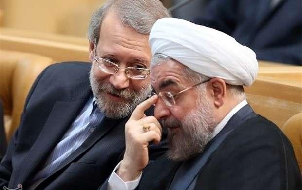 تذکر لاریجانی  به روحانی درباره برداشت از یک حساب