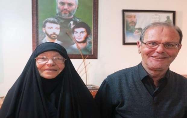 پدر شهید حاج عماد مغنیه درگذشت +عکس