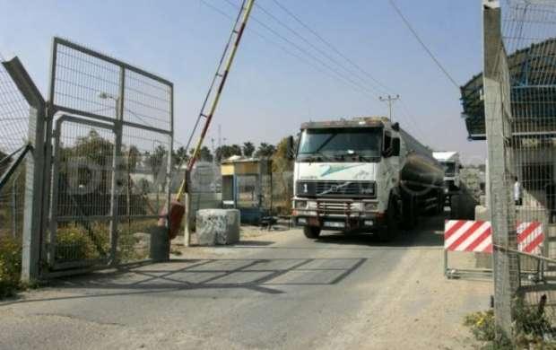 رژیم صهیونیستی گذرگاه های غزه رامسدود می کند