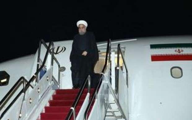 بازدید روحانی از مناطق زلزله زده کرمان