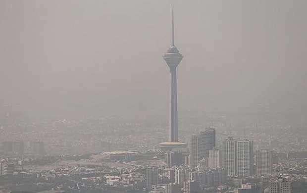 تداوم هوای ناسالم برای گروه های حساس در تهران