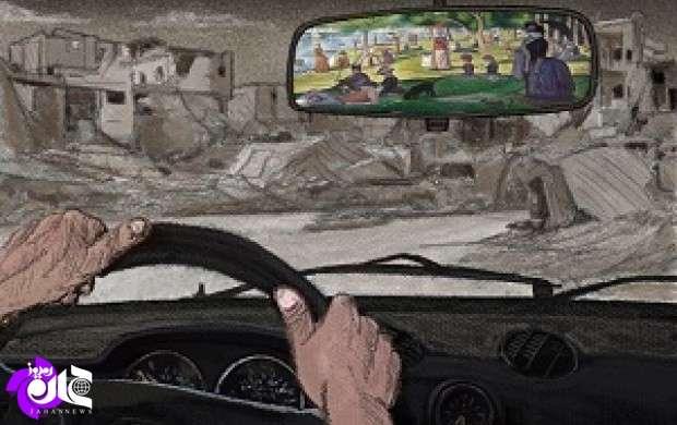 گلایه  برنده جایزه دوسالانه کاریکاتور