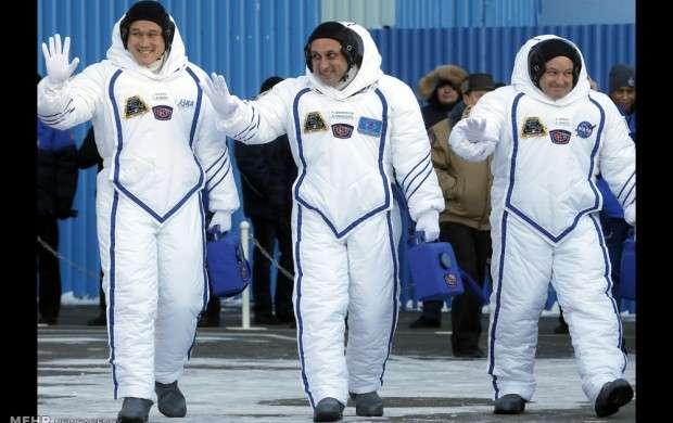 اعزام ۳ فضانورد به فضا