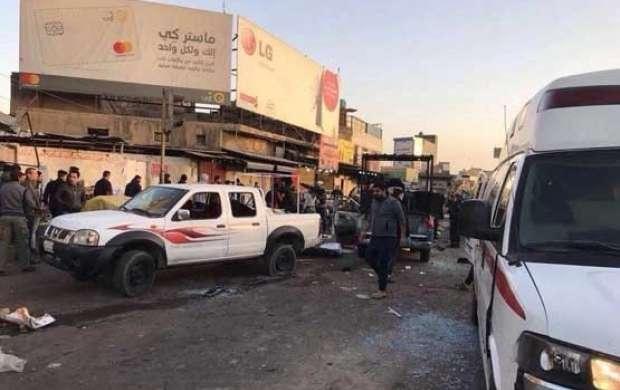 ۲۶ کشته و ۹۰ زخمی بر اثر وقوع ۲ انفجار در بغداد