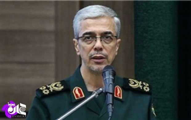 ایران نظم جهانی تعریف شده از سوی آمریکا را بر هم زد/ نیروهای مسلح برای مقابله با انواع تهدیدها آماده است