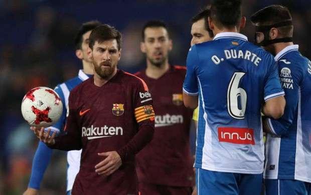 نخستین باخت فصل بارسلونا در جام حذفی رقم خورد