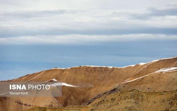 کاهش میزان بارش برف در مناطق کوهستانی