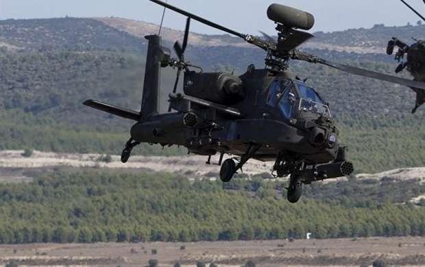 سقوط بالگرد ارتش آمریکا در کالیفرنیا