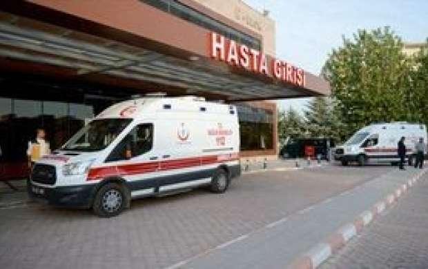 انتقال تروریست ها به بیمارستان مرزی ترکیه