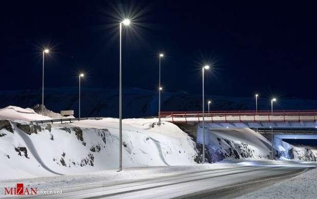 شب های زمستانی در ایسلند