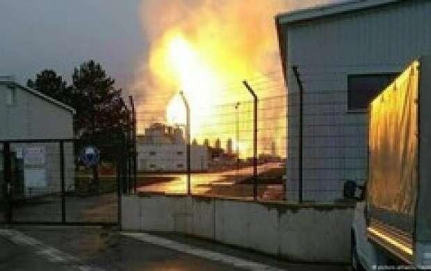 انفجار درسکوی نفتی در اوکلاهامای آمریکا