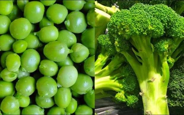 پیشگیری از چاقی با مصرف نخودفرنگی و کلم بروکلی