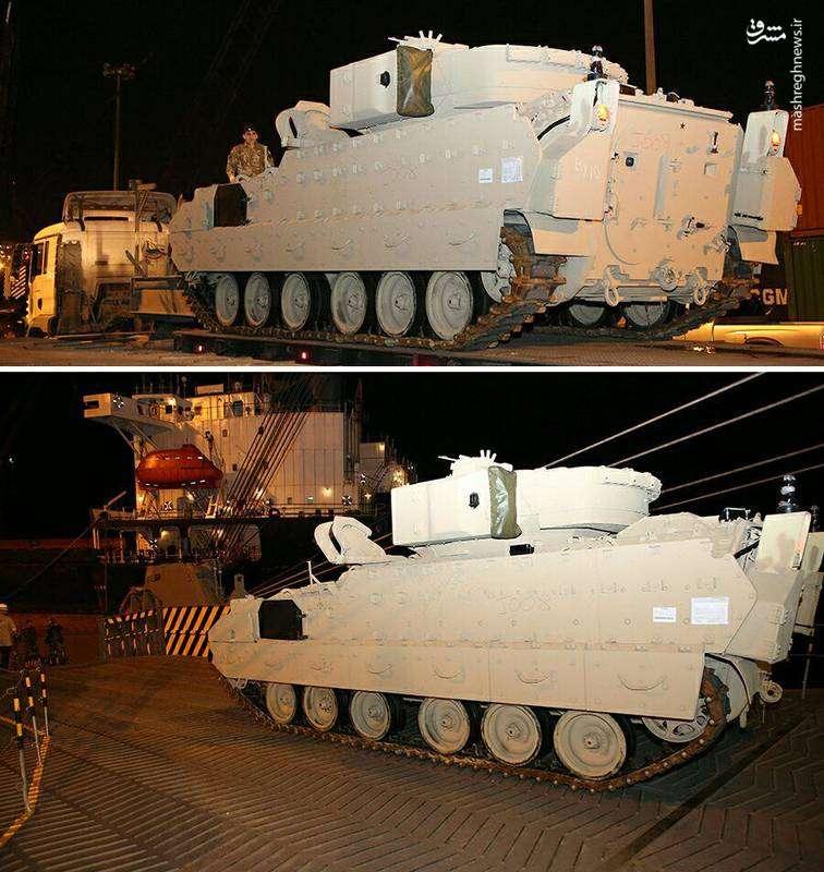 عکس/ هدیه آمریکاییها به ارتش لبنان