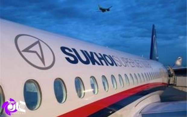 فرود سوخو سوپرجت ۱۰۰ روسیه فردا در مهرآباد