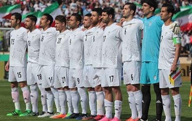 رونمایی از پیراهن تیم ملی در حضور رئیس فیفا