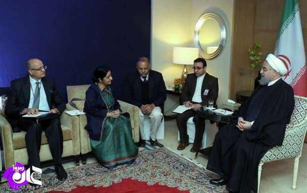 همکاری ایران و هند ثبات منطقه را تقویت می کند