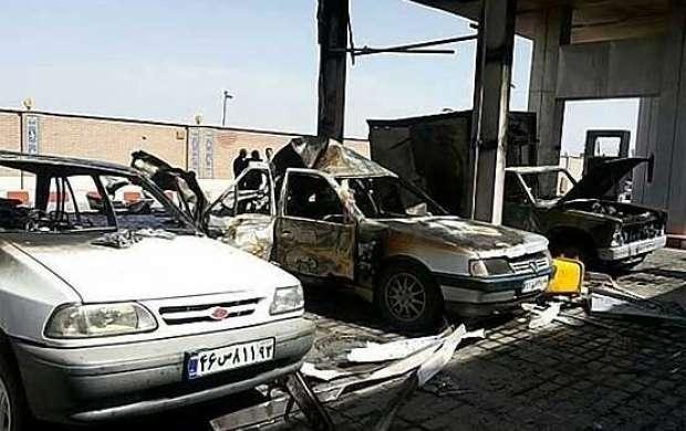 5 مجروح بر اثر انفجار در پمپ گاز بزرگراه فتح