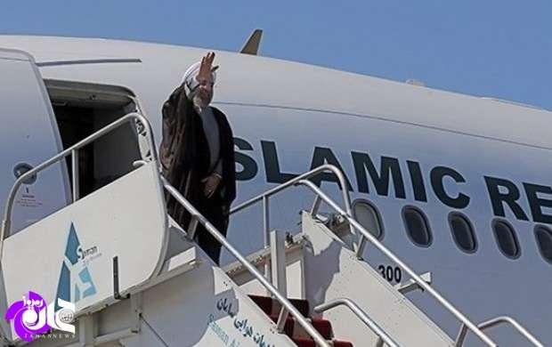روحانی بامداد امروز به تهران بازگشت