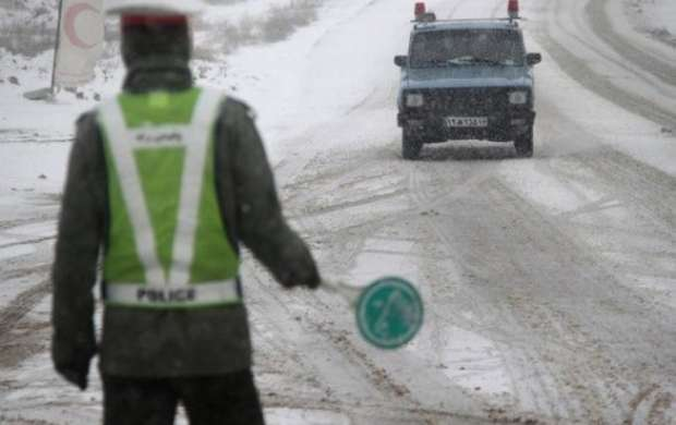 برف و باران در محورهای 10 استان/ 5 محور مسدود