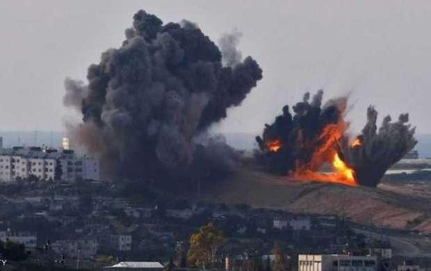 سلسله حملات هوایی رژیم صهیونیستی به غزه