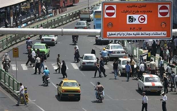 طرح ترافیک جدید در سال 97 اجرا نمی شود